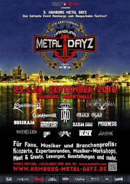 Hamburg Metal Dayz Neue Bands fürs 5. Jubiläum