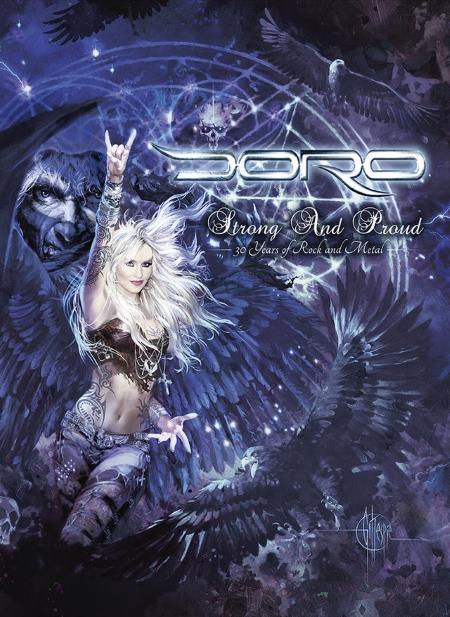 "DORO feiert tolles Bühnenjubiläum mit einzigartiger DVD ""Strong And Proud – 30 Years Of Rock And Metal"""