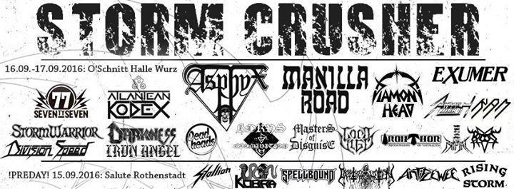 Storm Crusher Festival 2016 - O'Schnitt Halle, Wurz