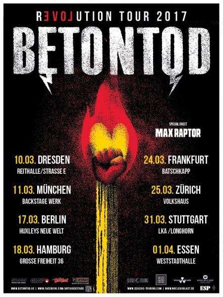 Betontod Tour 2017
