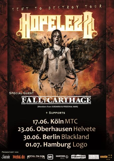 Hopelezz Tour 2017