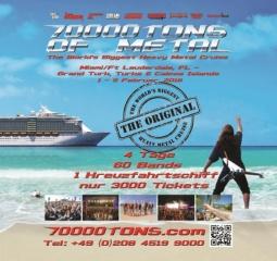 70000 TONS OF METAL  VVK-Infos & die ersten 17 Bands