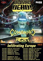 Comaniac auf Europatour mit Dr. Living Dead