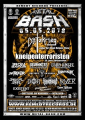 Metal Bash Open Air 2018 en paar Infos !!