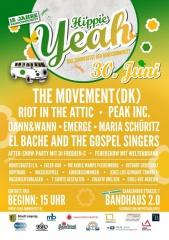 Hippie Yeah am Samstag im Bandhaus 2.0