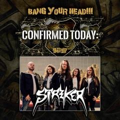 Striker beim Bang Your Head + neues Video