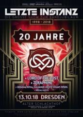 Die Letzte Instanz wird 20 – große Jubiläumsfeier in Dresden!